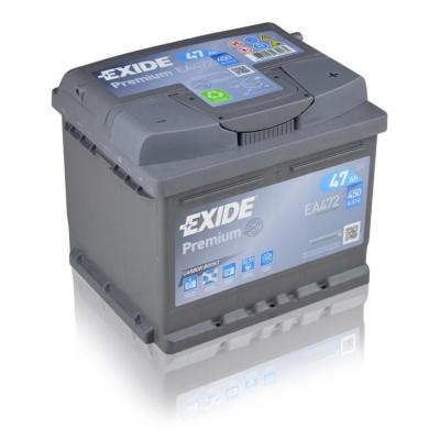 EXIDE Premium EA472   12V   47Ah   450A