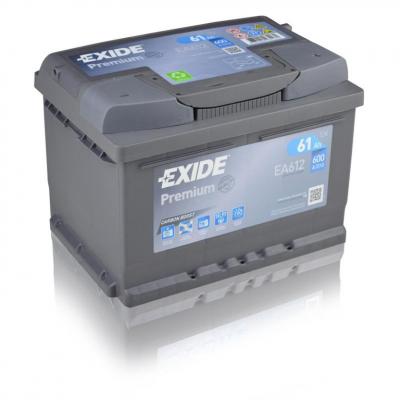 EXIDE Premium EA612   12V   61Ah   600A